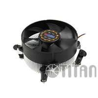 HTPC case PC case Intel 775 motherboard aluminum fin 9cm silent CPU fan cooler