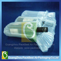 Inflatable packaging fill air bag air column bag for wine bottle