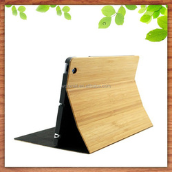 for ipad 5 case real bamboo flip case