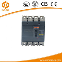 Long using life and good price EZC series 10A-630A 3P MCCB high breaking circuit breaker