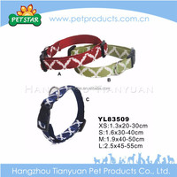 Advertising cute comfortable dark green dog collar