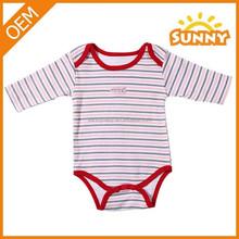 Cotton long sleeve unisex baby romper