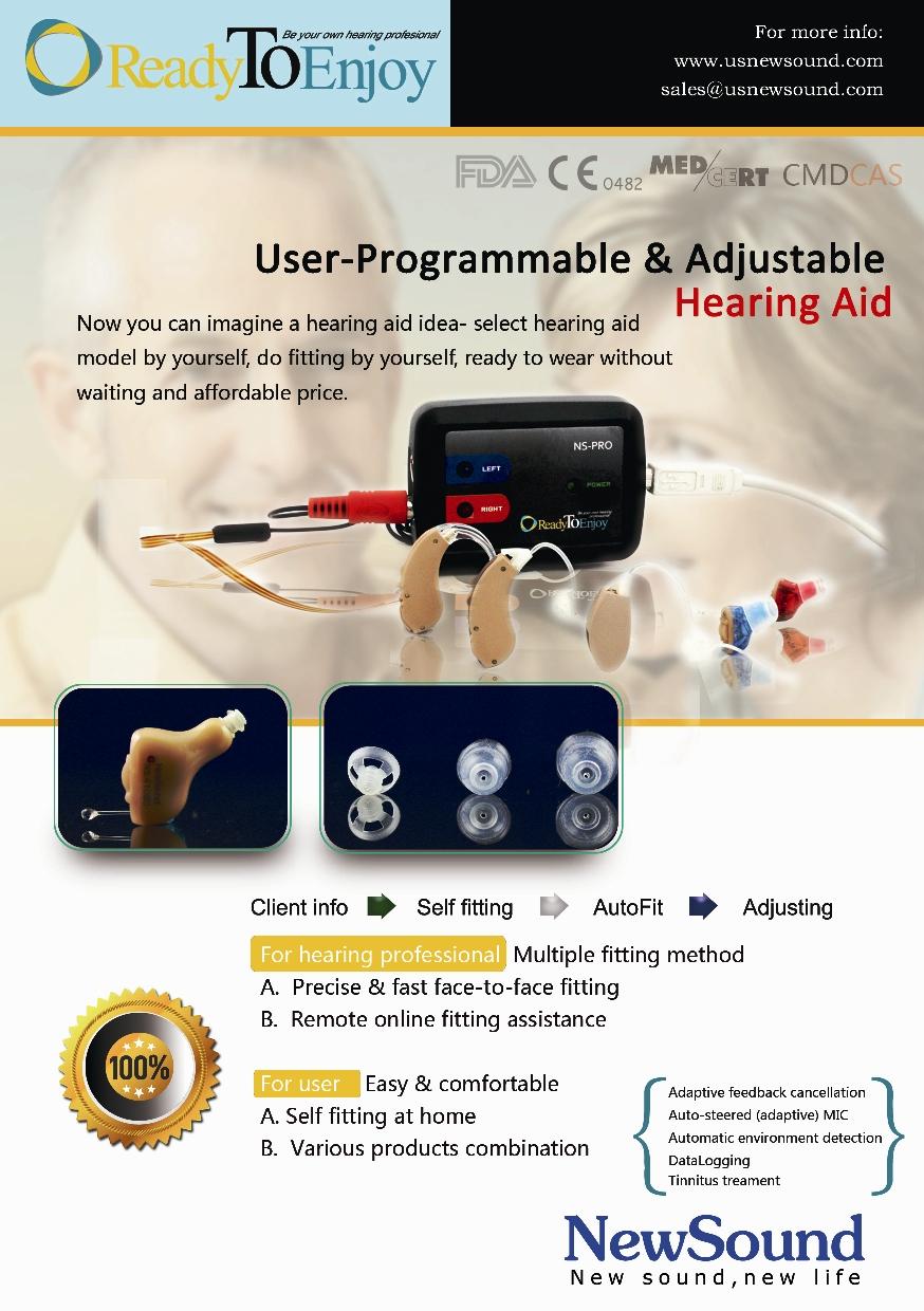 USB Programming Box for programmable hearing aid