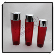 2015 new product cosmetic container pet pump bottle 200ml