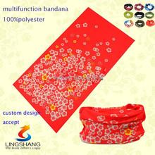 Multifunctional Headwear, Multi Scarf, Seamless custom scarf magic tube printed bandana