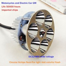 Motorcycles LED headlight GM Superbright 18W Motorcycles LED headlight