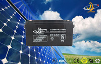 Solar power system battery 12v 65ah sealed lead acid battery/gel battery/deep cycle battery long life best sale