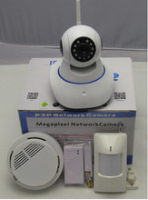 HD 720P Video 2CU Wireless Linkage Alarm IP Camera! battery powered wireless ip camera