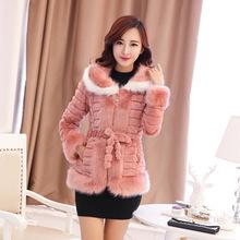 Ms. new winter fur Leather grass short fur coat