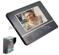 "New Arrival 7"" Touch Screen multi apartment Waterproof video door phone"