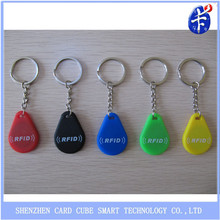 high quality various colors rfid key fob
