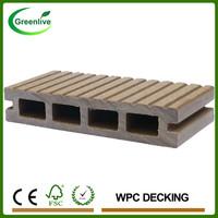 Fireproof Wood Plastic Composite Decking Tiles
