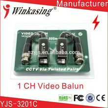 2015 Best selling products Module design video balun active simple installation
