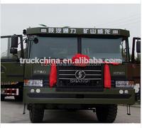 shacman 6x6 380hp 100 ton dump truck
