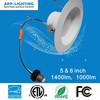 "ETL ES USA and Canada New Construction or retrofit can E26 3""/4""/5''/6'' LED recessed light"