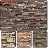 Customized exterior wall Decoration artificial stone molds