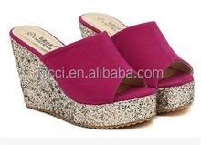 Sexy Wedge Women Ladies High Heel Sandal Shoes