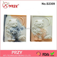 KITTY CAT 9 Bars silicone soap molds for soap making