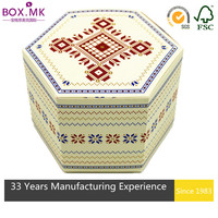 2015 Top-selling Recyclable White Cardboard Cake Box