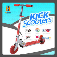 Self Balancing PU Wheel Scooters, Stand Up Kick Scooter, Child Scooter Fire Brake