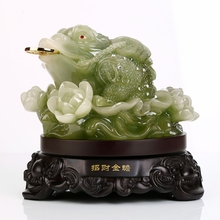 Fengshui Toad Money Frog and Fortune Toad wtth money statue