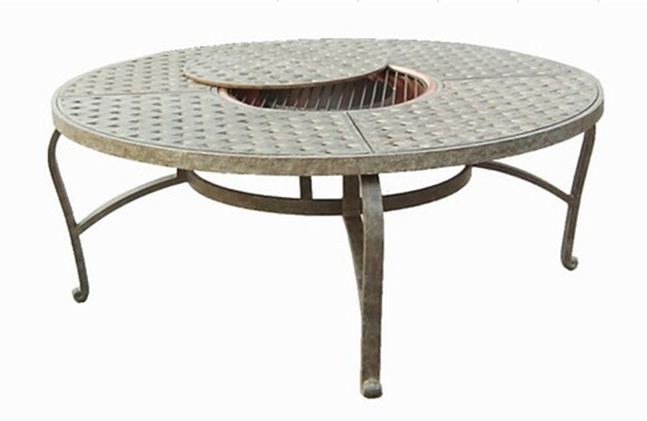 Hd Designs Wilson And Fisher Outdoor Patio Furniture With Antique Brass Fire