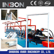 Aluminium steel door frame and window making machine / roll forming machine for cliscoe window frame/automatic roll forming line