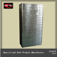 Stainless Steel Safe Deposit Box