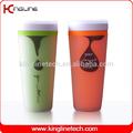 400ml copo de plástico que faz a máquina( plástico de parede dupla copo)( kl- 5005)