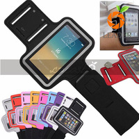 Custom made smartphone PU sport armband for iPhone 6