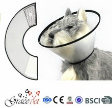 Pet Health Elizabethan Collar, Medium, Clear E-Collar