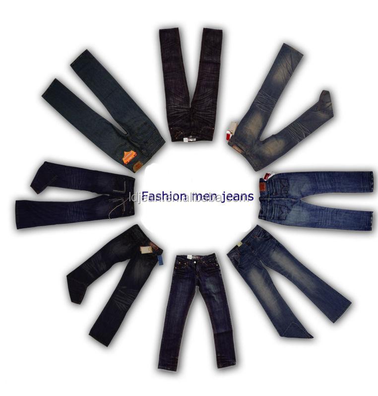 2014 Hottest Sale Raw Japanese Denim Men Jeans(LD06)