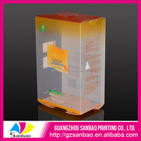 Hot Sales Small Professional Printing Oem Small Clear Flat Plastic Boxes With Nice Printing