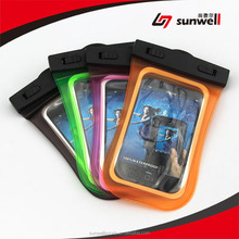Universal Cell Phone Waterproof Bag For Apple iPhone 6, 5s, 5, for Galaxy S5, S4 S3, for Galaxy Note 3, MP3 Player