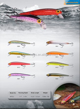 11.5cm 13g Artificial Bait Minnow Fishing Lure MTS11