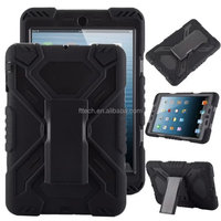 robot slim armor case for ipad mini with kickstand, Armor tablet case accessory for ipad mini