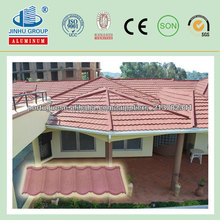 color stone coated tiles roofing/Supply step tile roof sheets