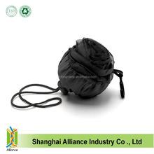 2015 new design customized black rose shape foldable shopping bag