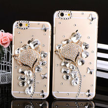 Crystal Cell Phone Protective Mobile Case/Rhiestone Phone Covers for iPhone 6 iPhone 6 Plus