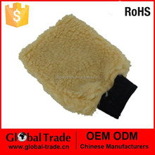 Synthetic Wool Wash Mitt.Car Cleaning Large Absorbant Chenille Microfibre Wash Mitt Glove.A1474.