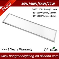 Ultra-slim aluminum frame led ceiling daylight 72W surfaced/recessed/pendant mounted led ceiling office panel lighting