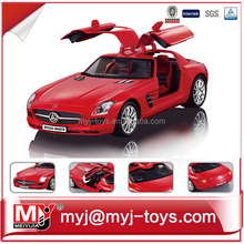 Newest design 1:18 alloy remote control car for kids and adults YK006858