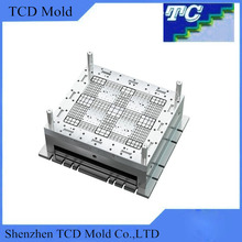 High Precision Plastic Pallet Mould Building Plastic Injection Molding Mould Plastic Processing