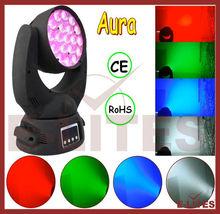 Martin Lighting Mac Aura Compact LED Moving Head, 19*10W 4in1 led moving head stage light