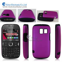 2014 China Suppliers PC Silicon Combo case for Nokia Asha 302 3020