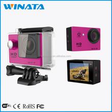 1200 Mega Pixels HD 1080p Mini DV Factory ODM Action Cam Best Video Camera for Sports Recording
