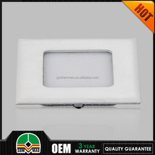 curved 2015 hot selling 600x600mm LED pannel light LED square led pannel light ce approve