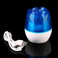 Portable Air Humidifier Mini Humidifier USB Rose Dazzle Humidifier Office Home Air Diffuser Aroma Mist Maker