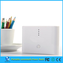 12000mAh power bank with dual USB for iPhone iPod iPad mobile Phone