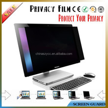 Manufacture Supplier Two way Privacy Filter Screen Film Guard For PC /notebook